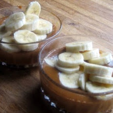 Warm Baby Bananas with Dulce de Leche Sauce