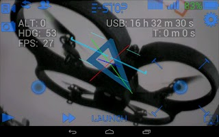 Screenshot of ARDrone Flight Pro