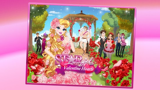 Star Girl: Valentine Hearts- screenshot thumbnail