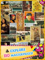 Screenshot of Kids Art Gallery