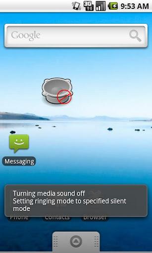 Mute Silent Widget
