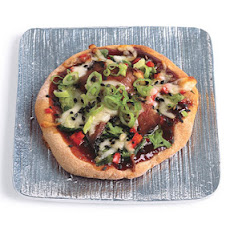 Duck Pizza with Hoisin and Scallions