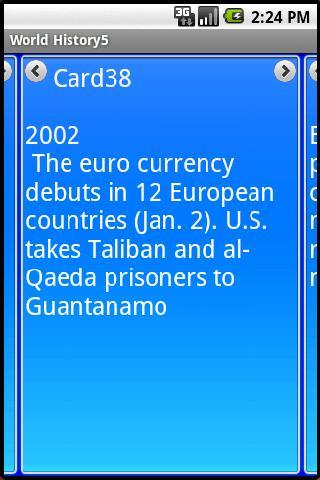 World History 2001-2006 A.D.