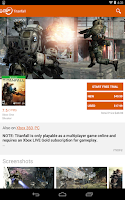 Screenshot of GameFly