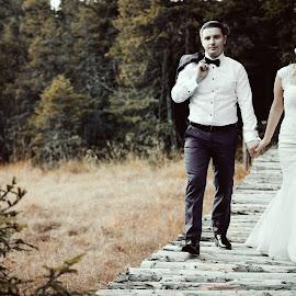 by Mihai Dintica - Wedding Bride & Groom