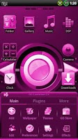 Screenshot of CYANOGEN PINK GO Theme