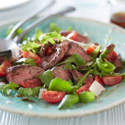 Warm Steak And Rocket Salad