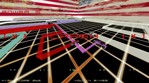 TRON HD - LightBike2 - SkyFall - screenshot