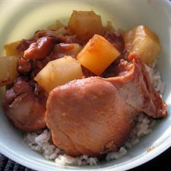 Slow Cooker Honey Garlic Chicken Recipe | Yummly