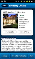 Screenshot of HAR.com Houston Real Estate
