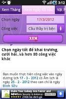 Screenshot of Phong Thủy - Kinh Dịch