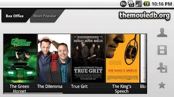 Screenshot of The Movie Database