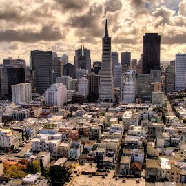 SF by Madhujith Venkatakrishna - City,  Street & Park  Neighborhoods