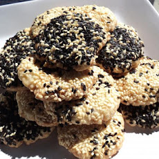 Baraziq -- Sesame Cookies (Syria -- Middle East)