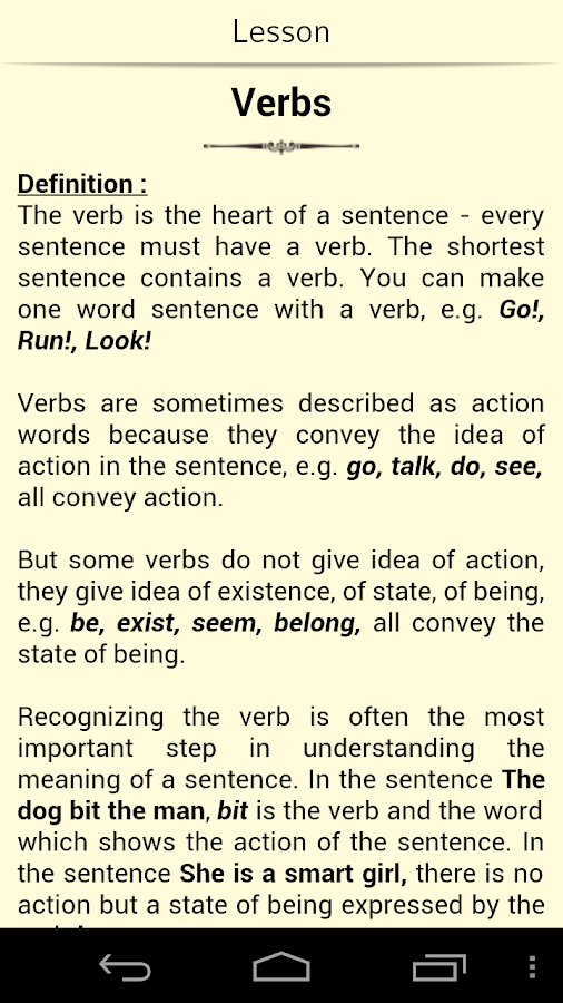 Grammar Expert : Beginner Screenshot 3