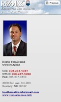 Screenshot of Heath Smallcomb Real Estate