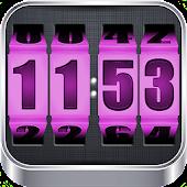 APK App 3D Rolling Clock PINK for iOS