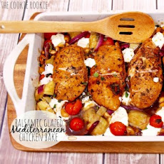 Balsamic Glazed Mediterranean Chicken Bake