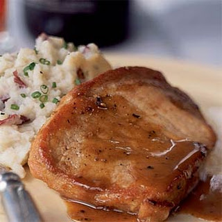 Honey and Spice-Glazed Pork Chops