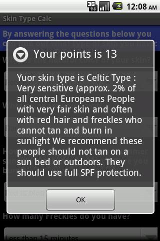 【免費醫療App】Skin Type Calc-APP點子