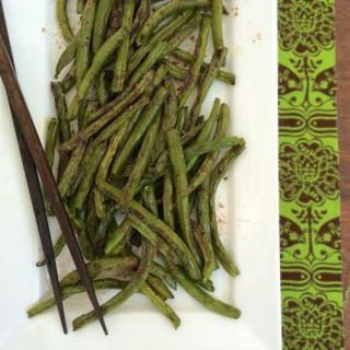 Chinese 5 Spice Roasted Green Beans