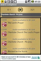 Screenshot of Jesus Prayer Audio