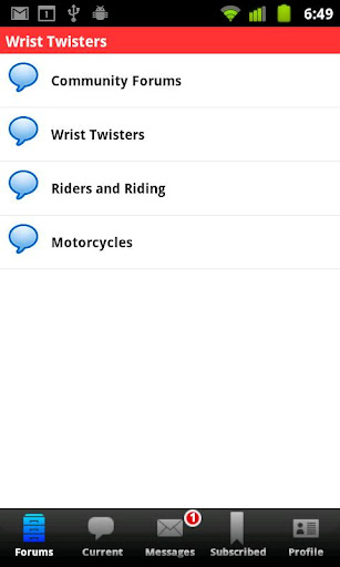 【免費社交App】WristTwisters Motorcycle Forum-APP點子