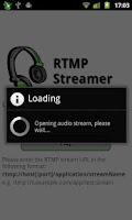 Screenshot of RTMP Streamer