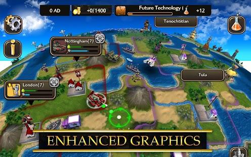 Game Civilization Revolution 2 APK for Kindle