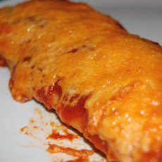 Enchiladas with Chili-Tomato Sauce