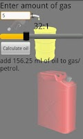 Screenshot of 2 Stroke Gas Oil Mix Calc Pro