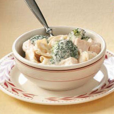 Broccoli Chicken Tortellini