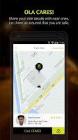 Screenshot of Ola cabs - Book taxi in India
