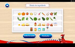 Screenshot of Du sourire dans tous vos plats