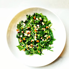 Shaved Mustard Green Salad
