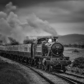 4160 arriving at Blue Anchor by Steve Dormer - Transportation Trains