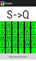 Screenshot of Scrypto Bible Cryptograms