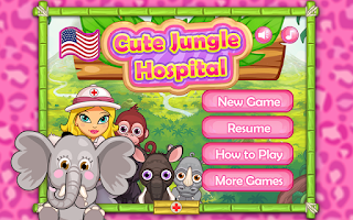 Screenshot of Cute Jungle Hospital