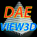 DAE View 3D icon