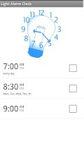 Screenshot of Wake Up Light Alarm Clock