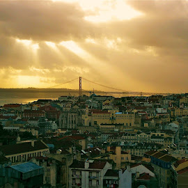 Lisbon, Portugal by Tyrell Heaton - City,  Street & Park  Vistas ( lisbon, portugal )