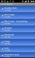 Screenshot of Mad Mutt Marine GPS Navigator