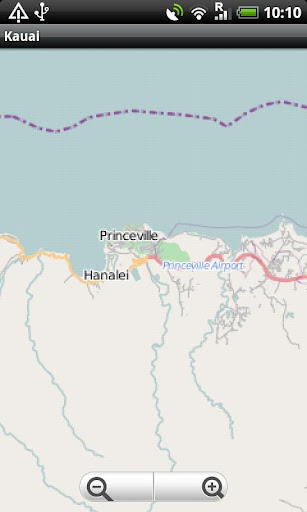 Kauai Street Map