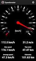 Screenshot of Speedometer