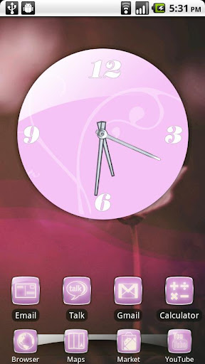 Pretty in Pink Theme