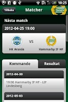 Screenshot of Hammarby IF HF