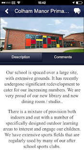 Colham Manor Primary School - screenshot