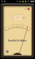 Screenshot of Decibel-O-Meter