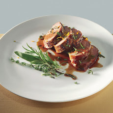 Honey-Marinated Pork with Gremolata