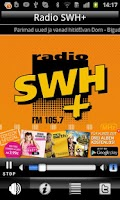 Screenshot of Radio SWH Plus 105.7 FM